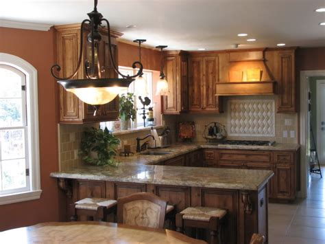U Shaped Kitchen Island by U Shaped Kitchen Design Layouts With Island
