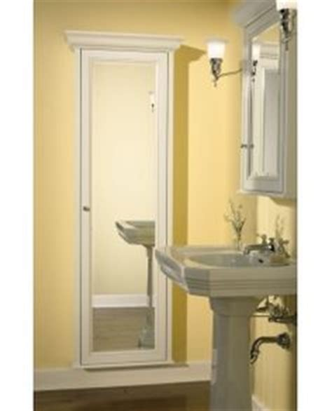 full length bathroom mirror cabinet 1000 images about recessed cabinet on pinterest wall