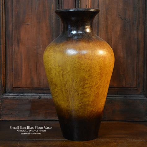 Tuscan Floor Vase by Tuscan Decor Small San Blas Floor Vase