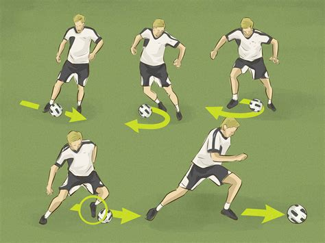 soccer the how to do the scissors soccer move with pictures wikihow