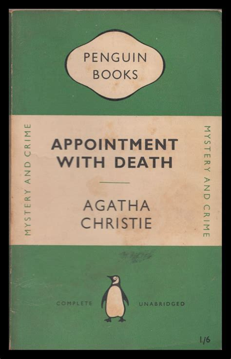 libro appointment with death poirot appointment with death published by penguin 1950 cine musica y libros interesantes y