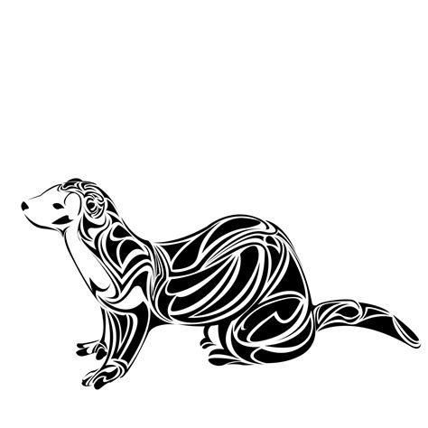 ferret tattoo designs ferret by taraprince on deviantart
