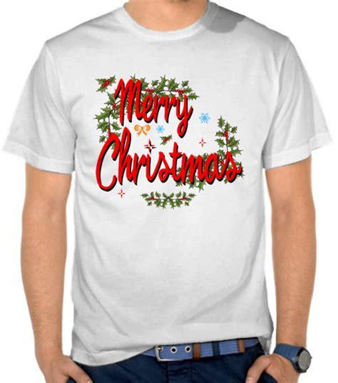 Kaos Merry Natal jual kaos merry logo 2 natal