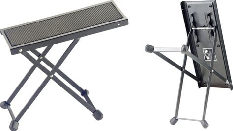 guitar foot stool alternatives stagg fos b1 bk guitar stand foot stool black rockem