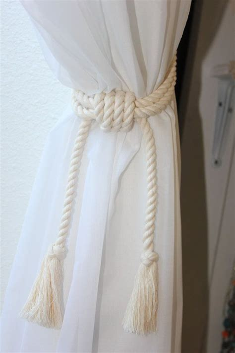 curtain tie back ideas 25 best ideas about curtain ties on pinterest diy
