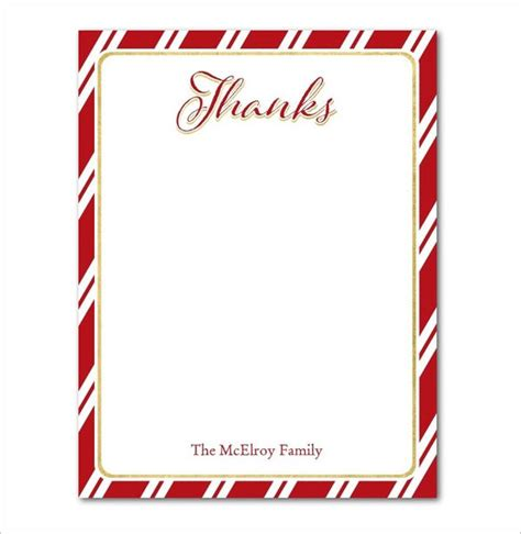 15 Holiday Thank You Cards Free Printable Psd Pdf Eps Format Download Free Premium Blank Thank You Card Template