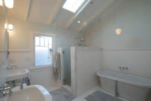 shower stall tile ideas Bathroom Contemporary with double shower gray countertop