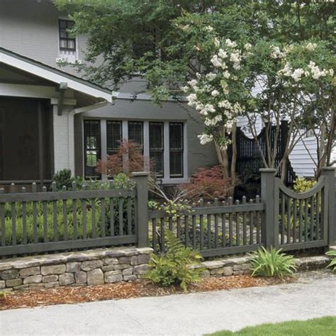 how to choose the right fence picket fences fence ideas and front yards