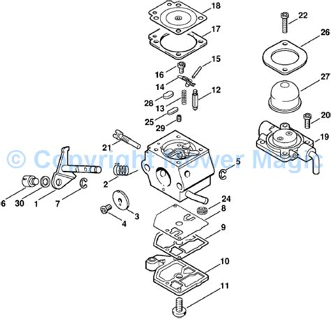 stihl fs 76 parts diagram stihl fs 36 parts diagram pictures to pin on