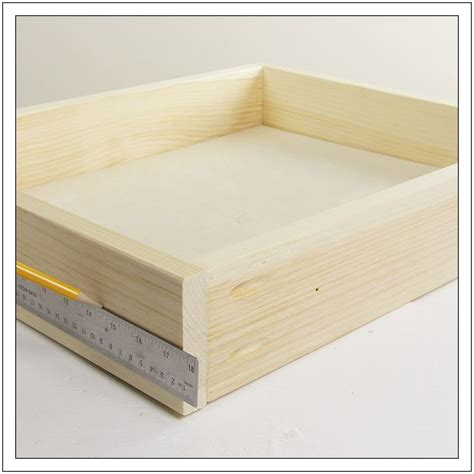 How To Build A Drawer Box by 17 Best Ideas About Installing Drawer Slides On