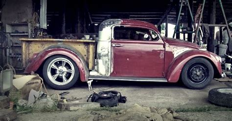 custom beetle truck ratlook ratty patina