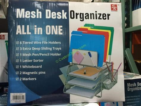 Costco Desk Organizer Costco 998668 Sunrisingint Modular Desktop Organizer Item Costcochaser