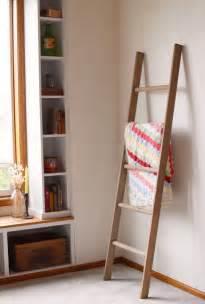 decorative ladder for blankets large rustic blanket storage decorative wooden ladder rustic