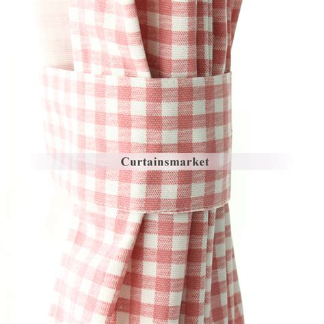 pink plaid curtains timeless and classic fresh pink plaid curtains