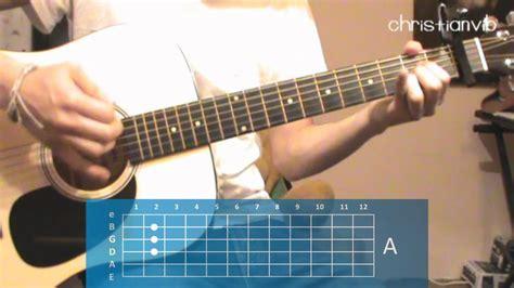 youtube tutorial de guitarra c 243 mo tocar quot para no perderte quot en guitarra hd tutorial