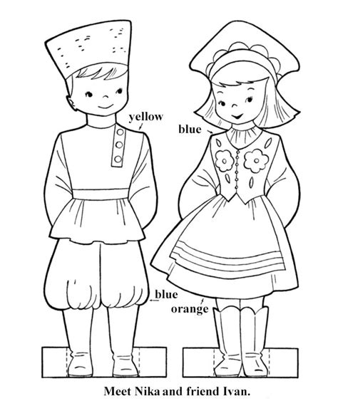 russian boy coloring page 17 best images about pays on pinterest around the worlds