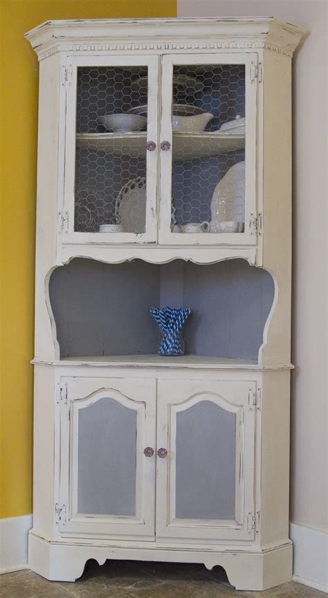 Corner Kitchen Hutch Cabinet by Black And White And Loved All Stuff I Made