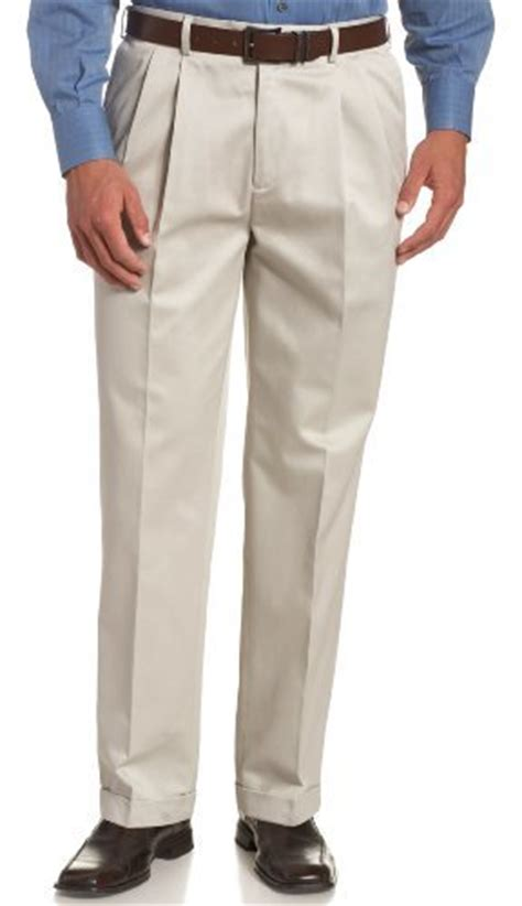 savane comfort waist pants savane men s no iron comfort waist pleat front luster