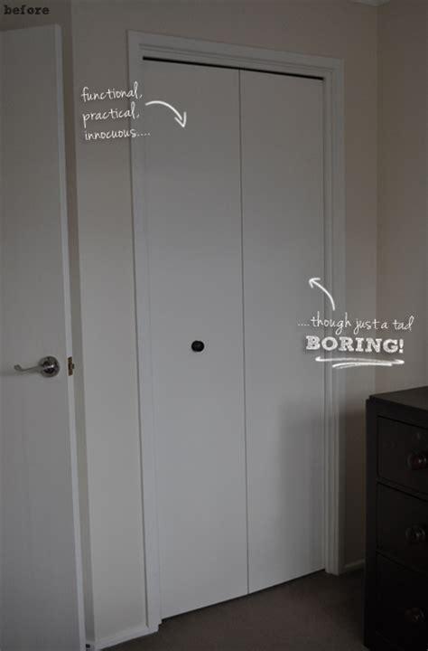 Change Bifold Door Regular Door by The Painted Hive Converting Bi Folds To Barn Doors The