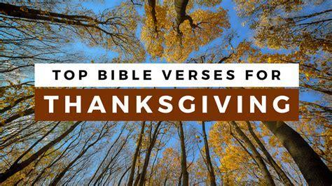 Top 30 Bible Verses for Thanksgiving   Sharefaith Magazine