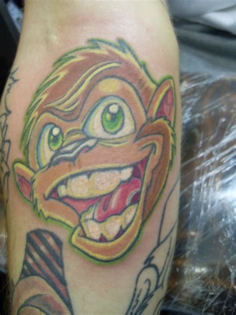 tattoo new school monkey nu skool monkey tattoo