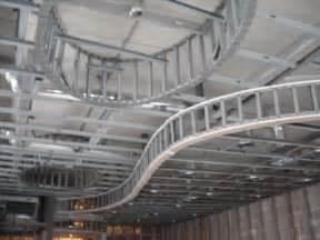 gypsum board suspended ceiling metal stud framing