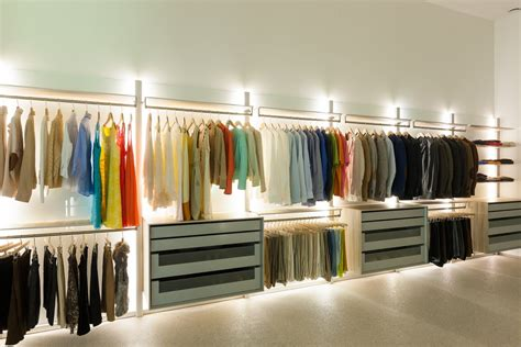 Closet Lighting Solutions | extremely versatile walk in closet dresswall by