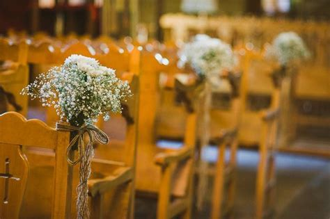 Rustic wedding in Cyprus   Wedding Decoration   Church