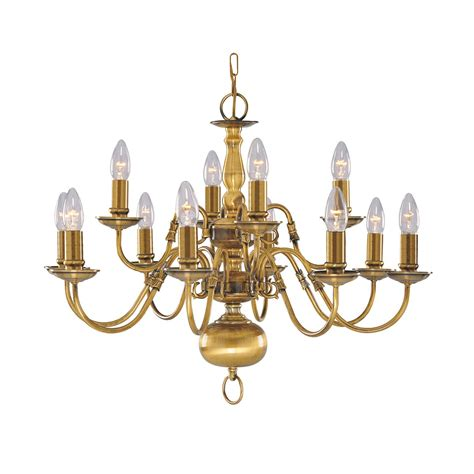 12 light chandelier brass flemish solid antique brass 12 light chandelier with