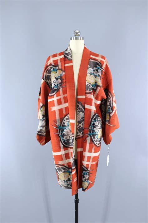 Cardigan Kimono Pattern Floral Cotton Linen Lookbook vintage 1920s silk haori kimono jacket cardigan meisen ikat oran thisbluebird modern