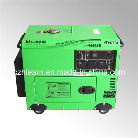 china 4kw portable home use diesel generator price