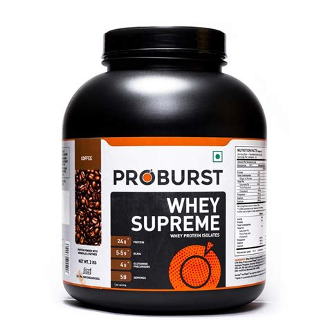 ultimate nutrition whey supreme proburst whey supreme 2kg bag free bodybuilding india