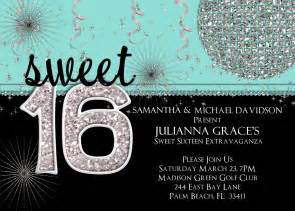 invitation templates 16th birthday http