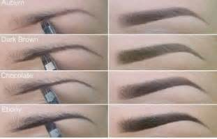 colored brows how to take your eyebrow makeup to the next level