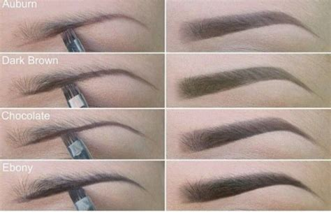 eyebrow color how to take your eyebrow makeup to the next level
