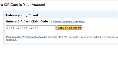Apply A Gift Card To Amazon - how to apply a gift card code to amazon 8 steps with pictures