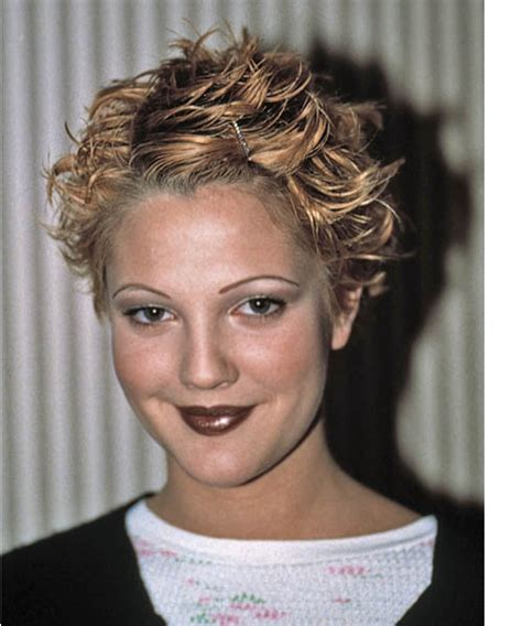 Drew Barrymoores Hair by Drew Barrymore Wavy Casual Hairstyle