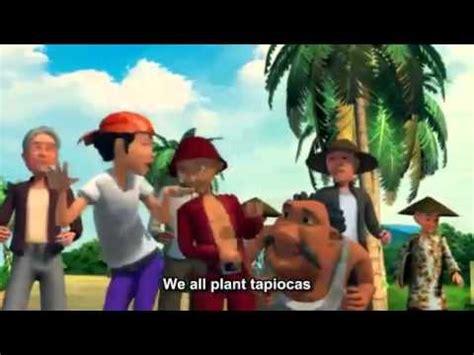 theme song upin ipin upin dan ipin tanam tanam ubi theme song youtube