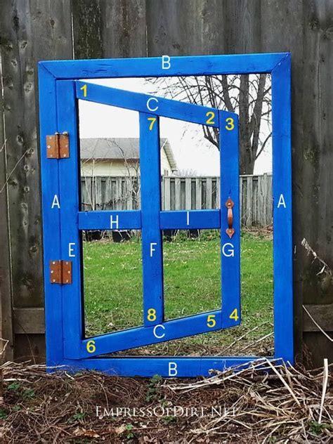 diy optical illusion mirror   home  garden