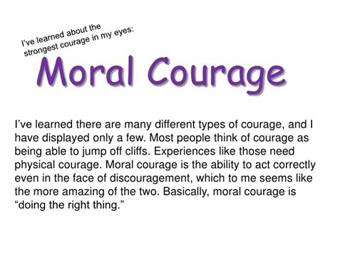 Courage Essays by Courage Photo Essay
