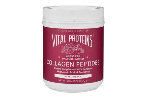 vital proteins collagen mixed berry collagen peptides by vital proteins barefoot