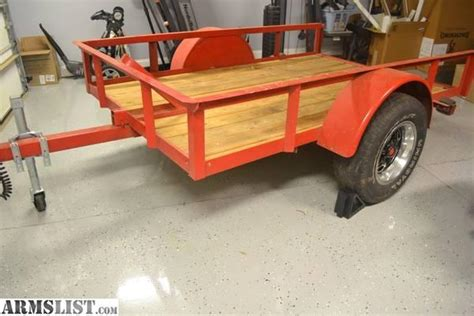 utility bed trailer armslist for sale trade tilt bed utility motorcycle trailer