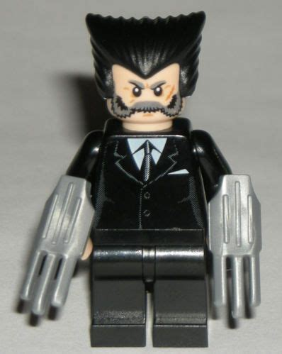 Sale Punisher Kf272 Antiheroes Custom Minifigure Brick marvel wolverine lego marvel and black suits on
