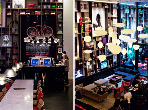 Stylish Living Room boutique hotel new york citizenm new york review