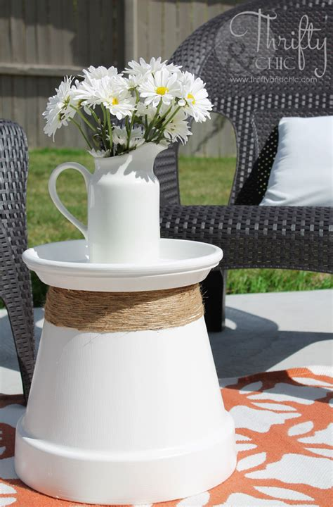 Patio Table Flower Pots 15 Budget Friendly Projects To Make With Terra Cotta