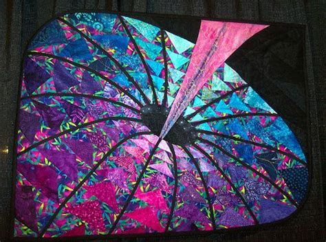 fabric pattern with holes black hole quilt this is amazing i d love to see other