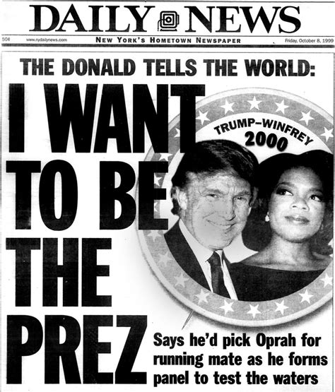 new york through the new york daily news covers of donald trump through the years