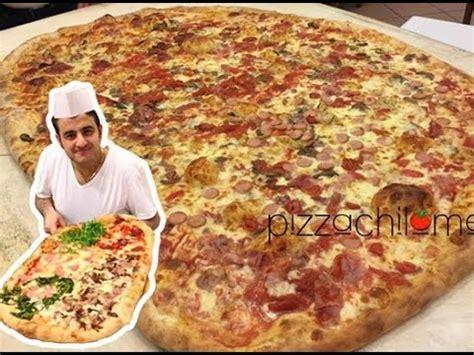 sedere piu grande mondo la pizza piu grande mondo