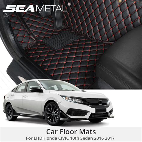 honda custom car for lhd honda civic 10th sedan 2017 2016 custom car floor