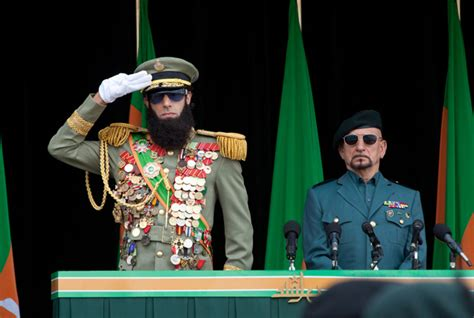admiral general aladeen sacha baron cohen tries too hard in the dictator
